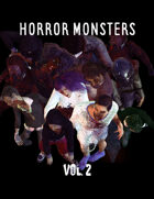 Horror Monsters Vol. 2