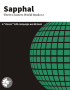 Sapphal: Three Clusters World Book 02