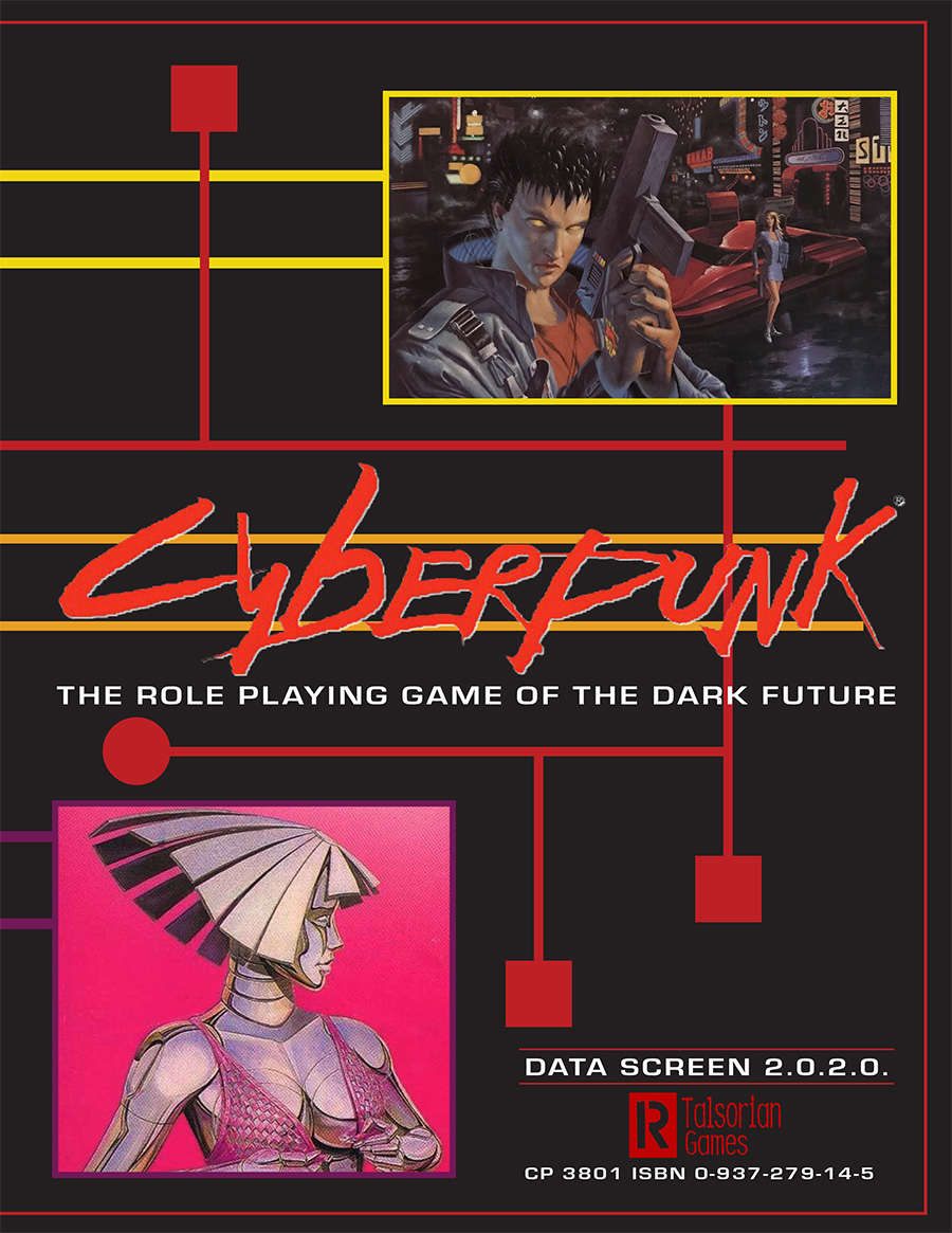 Cyberpunk 2020 Data Screen