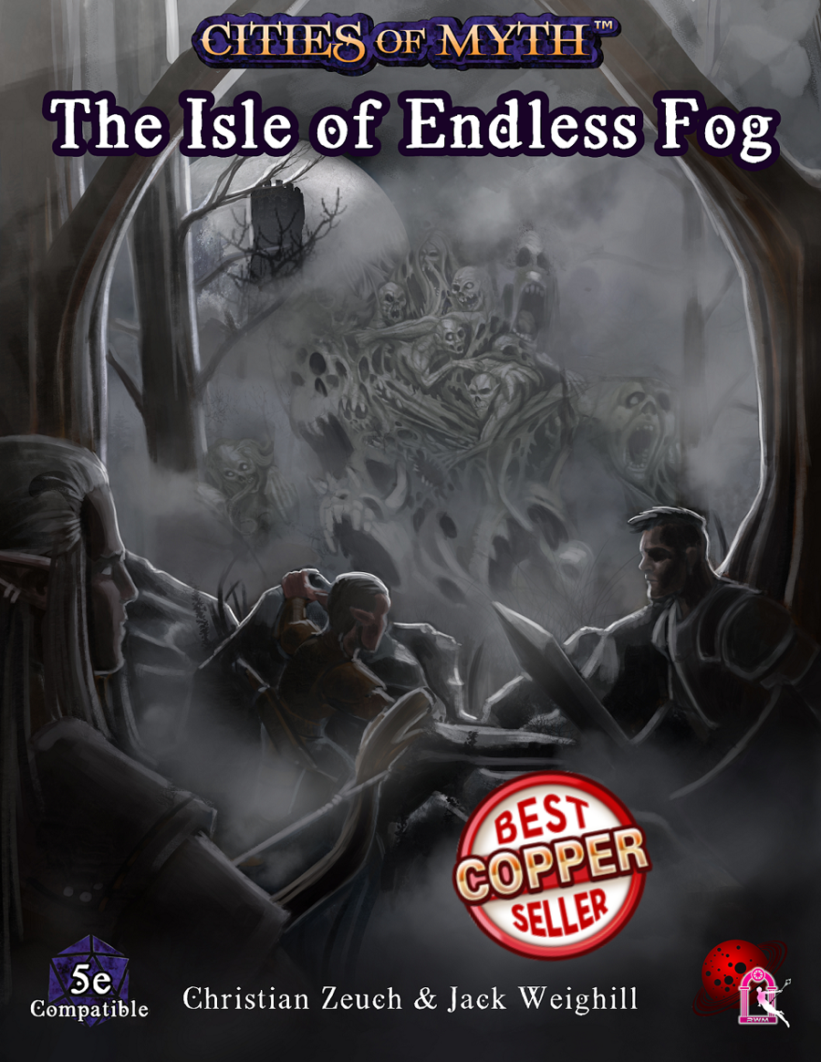 The Isle of Endless Fog Cover