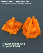 3D Printable Power plant And Crystal Field