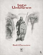 Into the Unknown - Book 1: Characters