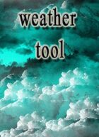 Weather generator for any RPG
