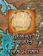 Campaign Map. Desert Empires