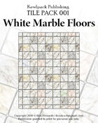 TilePack 001: White Marble Floors