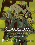 Causum: The Post-Apocalyptic Roleplaying Game - Playtest Version