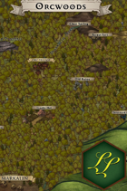 """Orcwoods"" Forest Surroundings Map"