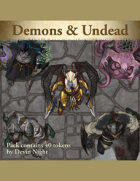 Devin Token Pack 106 - Demons & Undead