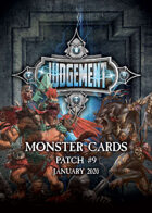 Judgement Monsters - Patch 7