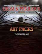 Art Pack: Professions A-Z (Grim & Perilous Library) - Templates for Zweihander RPG