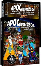 APOCalypse 2500™ Core Rule 1 [BUNDLE]