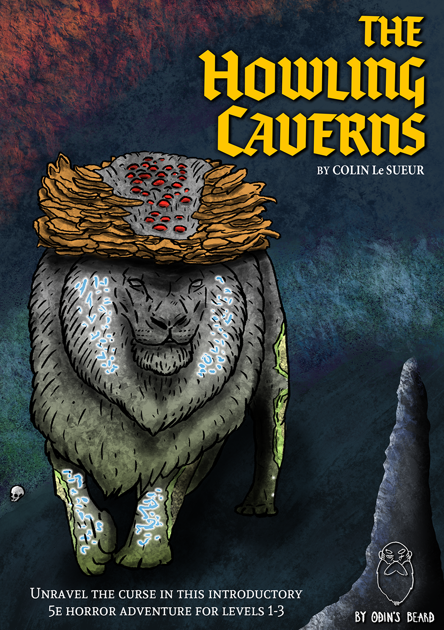 Cover of The Howling Caverns