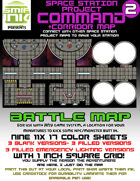 9 sheet BATTLEMAP space station set 2 command