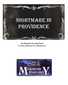 Nightmare in Providence