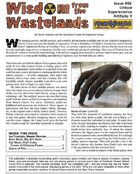 Wisdom from the Wastelands Issue #49: Unique Superscience Artifacts V