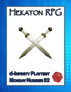 Hekaton RPG (d-Infinity Playtest Monday #32)