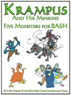 Krampus & His Minions (Five Monsters for BASH)