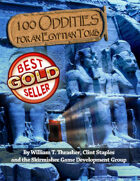100 Oddities for an Egyptian Tomb