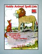 Noble Animal Spell Lists