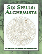 Six Spells: Alchemists