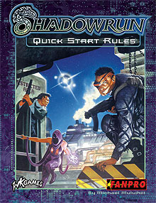 Shadowrun: Quick Start Rules: Third Edition on DriveThruRPG.com