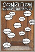Condition Word balloons