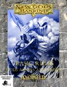 New Gods of Mankind Basic Rules 1st Edition
