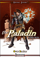 Divine Favor: the Paladin (Pathfinder RPG)
