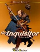 Divine Favor: the Inquisitor (Pathfinder RPG)