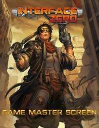 Interface Zero Game Masters Screen on RPGNow.com