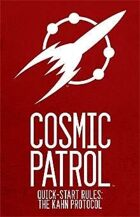 Cosmic Patrol: The Kahn Protocols (Free RPG Day 2012)