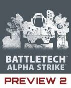 BattleTech: Alpha Strike Preview 2