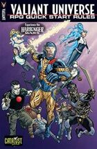 Valiant Universe RPG Quick Start Rules : Harbinger Wars: Renegades