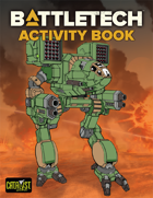 BattleTech: Activity Book