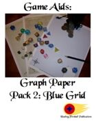 Graph Paper Pack 2: Blue Grid