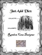 Just Add Dice: Random Cave Designer