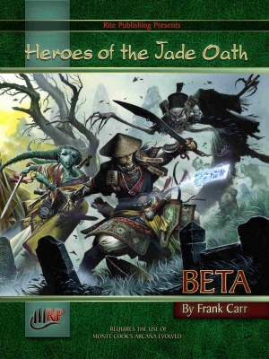 Heroes of the Jade Oath Preview #4: New Rules on DriveThruRPG.com