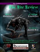 The Rite Review #1 (PFRPG)