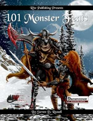 101 Monster Feats (PFRPG) on RPGNow.com
