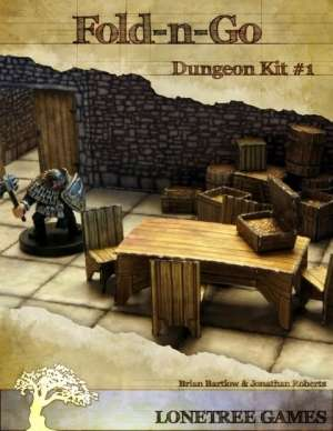 Fold-N-Go: Dungeon Kit #1 on RPGNow.com