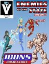 Enemies of the State vol 1 Issue 3 [ICONS]