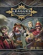 Leagues of Adventure - Core Rules