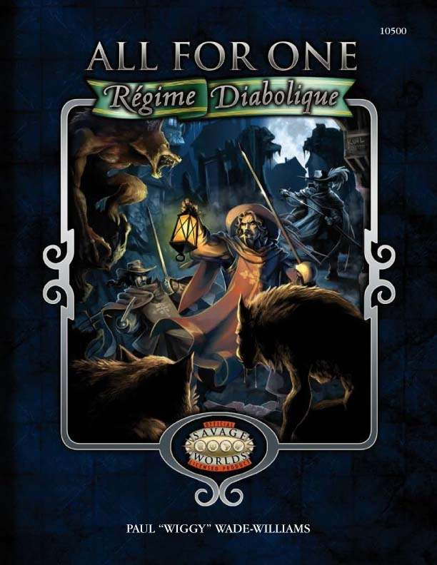 Savage Worlds All for One: Regime Diabolique