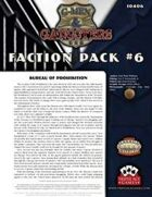 G-Men & Gangsters Faction Pack #6