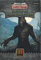 Leagues of Gothic Horror: Guide to Shapeshifters