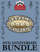 TAG@TEN Savage Worlds Bundle