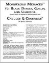 Castles & Crusades: Monstrous Menaces #2: Blade Dancer, Goblin, and Tharghûl