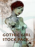 Goth Girl Stock Pack