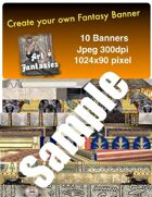 Fantasy Banners or Page Separators Volume 5 Egyptian