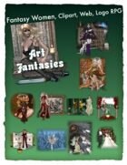 Fantasy Women Clipart Volume 4
